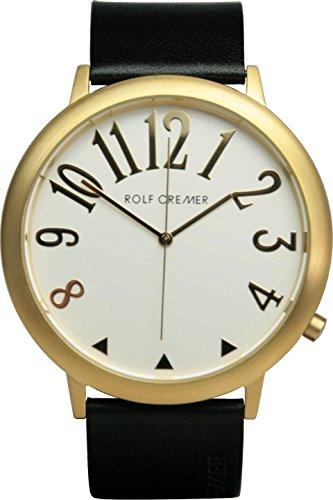 Uhr - Jumbo II - goldfarben-schwarz