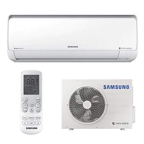 Ar Condicionado Split Hi Wall Samsung Digital Inverter 8 Polos 17000 BTUs Frio 220V AR18NVFPCWKXAZ