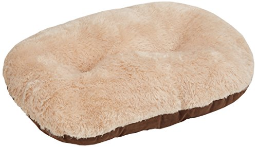 Gor Pets Nordic Oval Cushion for Dog Bed Comfortable Washable , 21-inch, Brown