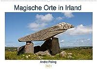 Magische Orte in Irland (Wandkalender 2021 DIN A2 quer): Eine Reise zu den magische Orten Irlands (Monatskalender, 14 Seiten )