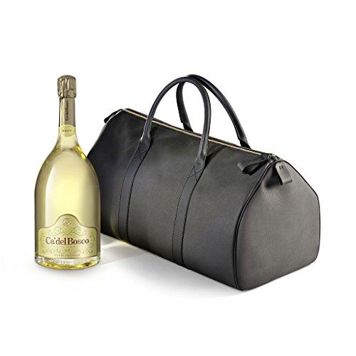 Cuvee Prestige -CA DEL BOSCO- Jeroboam 3lt DOCG con esclusiva borsa in pelle fiorentina