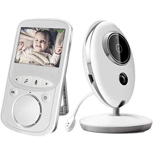 Babyfoon Met Camera, 2,4 Inch LCD-scherm Monitor, Nachtzicht, 2-weg Talk Back Audio & Temperature Display, Home Security Camera For Baby/Dier/Nanny/Ouderen