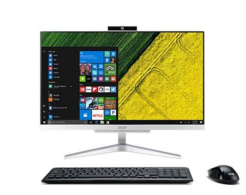 "Newest Acer Aspire All-in-One 23.8"" FHD Desktop 