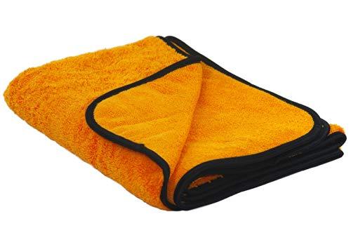 9520 original ALCLEAR orange baby extrem saugfähiges Mikrofaser Auto Trockentuch 90x60 cm