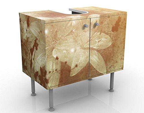 Apalis Waschbeckenunterschrank Lilith 60x55x35cm Design Waschtisch, Größe:55cm x 60cm