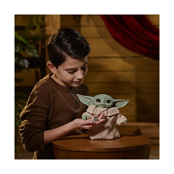 Star Wars The Child Animatronic Edition 7.2-Inch-Tall Toy by Hasbro with Over 25 Sound and Motion Combinations, Toys for Kids Ages 4 and Up 3
