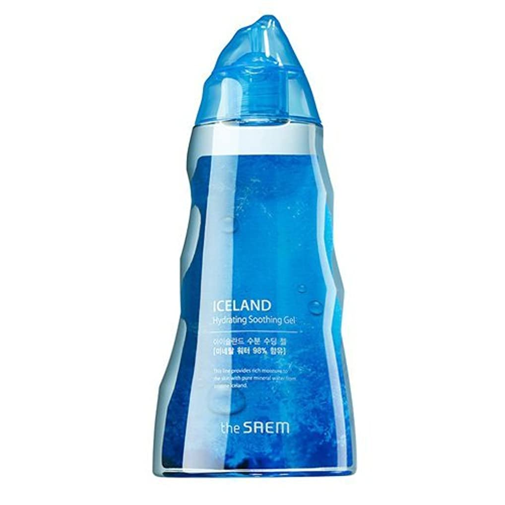 達成一握りオートザセム [韓国コスメ The Saem] アイスランド 水分 スージングジェル (300ml) [海外直送品][並行輸入品]