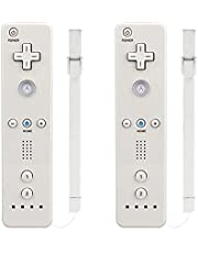 Wii Remote Controller,MOLICUI Wii Game Wireless Controller for Nintendo Wii/Wii U Console,2 Packs
