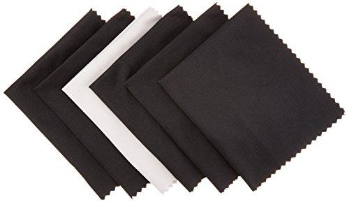 Amazon Basics - Mikrofaser-Reinigungstuch für elektronische Geräte, 6er-Pack