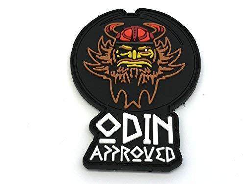 Parche morale de PVC Airsoft de Viking Paintball aprobado por Odin