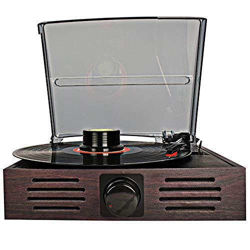 KK Zachary Moderne Maschinen Nachahmung Vinyl Record Retro Jahrgang Gramophone Einkommen Multifunktions-Plattenspieler Klingen