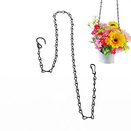 ROSENICE Kette mit Haken für Blumentopf zum Aufhängen von 90 cm