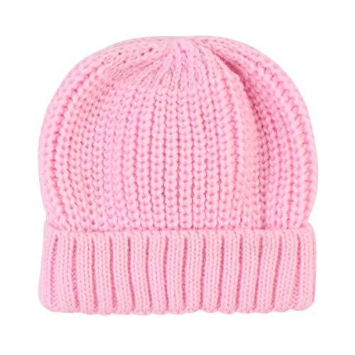 NCONCO Baby Winter Warme Mütze Kleinkind Weich Warm Strickmütze Chunky Beanie...