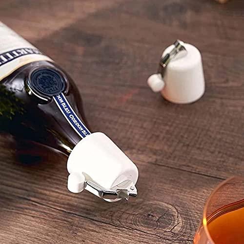 AHURGND 2PCS Vacuum Champagne Tappers, Tapón de Vino Botella Champagne Saver, Sellador de la Botella de la Botella del Ahorro de vinos Reutilizable, la expansión del tapón de la Botella de la Bebida