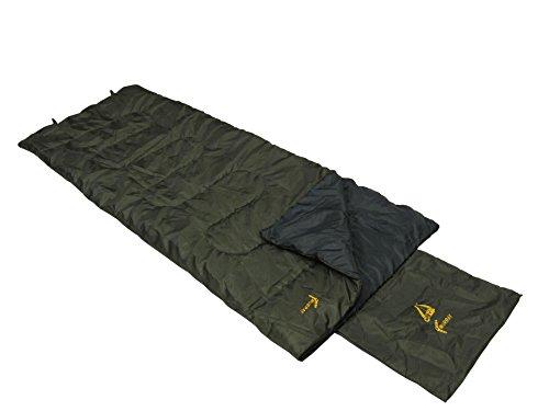 Best Camp Unisex Murray slaapzak, olijf/donkergrijs