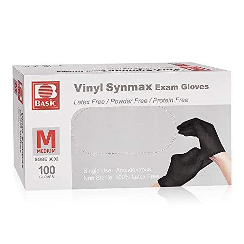 Disposable Medical Synmax Vinyl Exam Gloves-