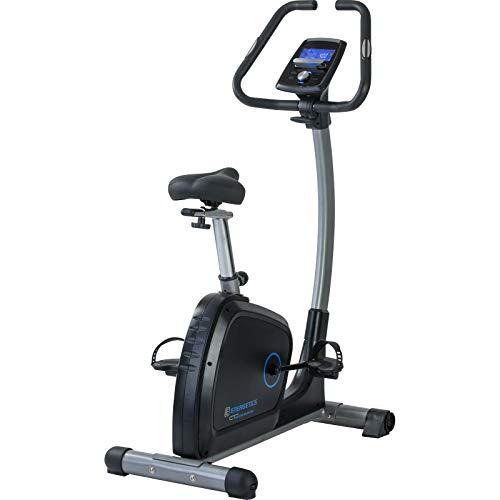 ENERGETICS CT 680 Ergometer Fitnessbike, Schwarz/Silber, One Size