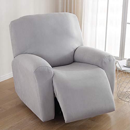 TIYKI Color Sólido Sofá Cubierta De Cama,Elástica Funda De Sofá,Jacquard Funda para Sofá,Perros Se Admiten Perros Couch Slipcover-F 2 Seaters