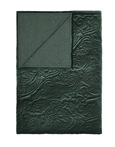 ESSENZA Quilt Roeby Uni Polyester Grün, 150x200 cm