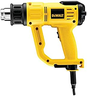 Dewalt Lcd Premium Heat Gun 2000 Watts, Black And Yellow [d26414-gb]