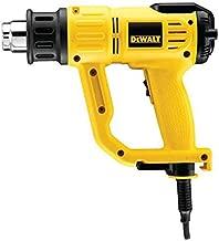 Dewalt Lcd Premium Heat Gun 2000 Watts, Black And Yellow [d26414-gb]