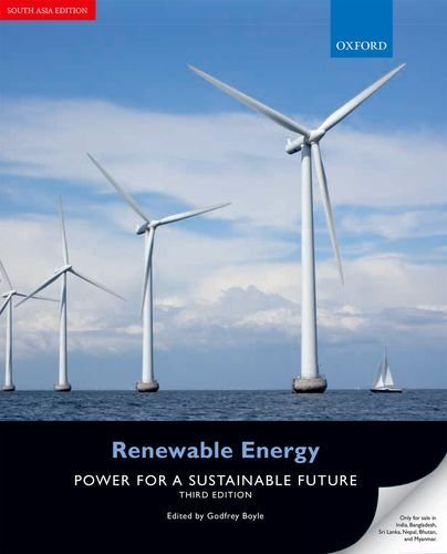 Renewable Energy: Power for a Sustainable Future by Boyle, Godfrey 3rd edition (2012) Paperback