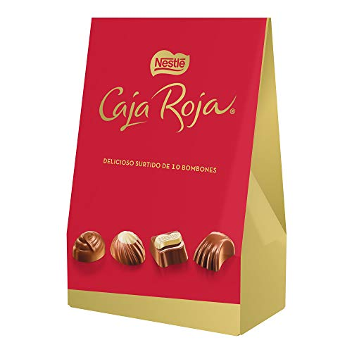 Nestlé Caja Roja bolsa de bombones de chocolate - Pack de 12 x 100g