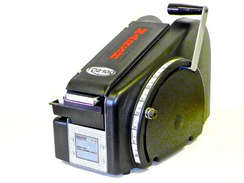 """MARSH TD2100 Portable Manual Tape Dispenser with US Inch Increments, 18.9"""" Length x 10-1/2"""" Width x 13.7"""" Height"""
