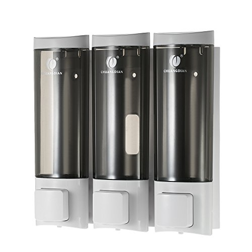 Decdeal - 3X 200ml Dispensador de Jabón y Loción de Pared (Líquido)