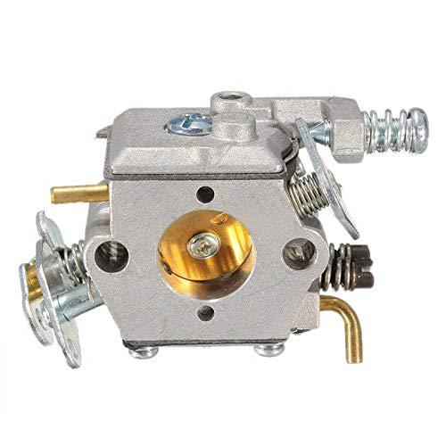 WANWU Carburador Carb Piezas de Repuesto para Husqvarna Partner 350 351 370 371 420 Motosierra Motor Carb Piezas de Repuesto #503 28 32-08.