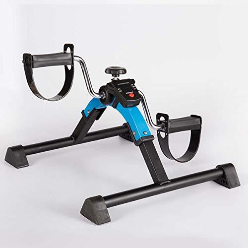 Opvouwbaar Pedal Exerciser, Onder Bureau Mini Hometrainer Met Elektronische Display Voor Benen En Armen Workout