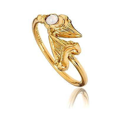 Alex and Ani Shark Tooth Ring Wrap - Precious Metal