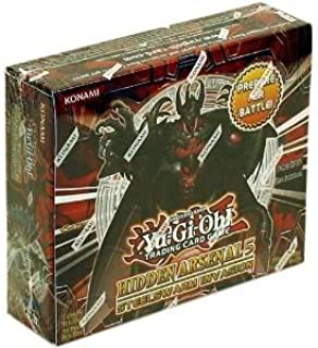Toy / Game Yugioh Hidden Arsenal 5 Steelswarm Invasion Booster Box 24 Packs With Gem Knight & Laval Themes