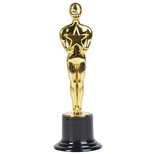 Gold Award Trophy, 6-Inch tall (4-Pack)