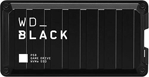 WD_BLACKP50 Game Drive de 4 TB - Velocidades SSD NVMe hasta 2000MB/s - Funciona con PC/Mac y PlayStation
