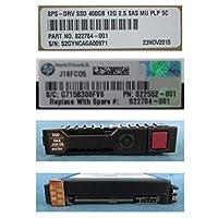 Hewlett Packard Enterprise ホットプラグ SSD 400GB 2.5インチ SASインターフェイス、混合用途-3、873566-001 822555-B21 (SASインターフェイス、混合用途-3 12Gb/秒転送レート。