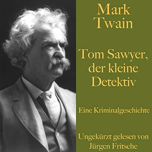 Page de couverture de Tom Sawyer, der kleine Detektiv. Eine Kriminalgeschichte