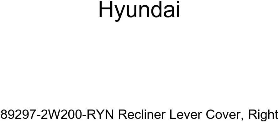 Genuine Hyundai 89297-2W200-RYN Recliner Cover Lever Cheap super special favorite price Right