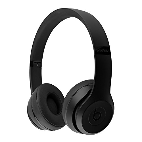 Beats by Dr. Dre - Beats Solo3 Wireless On-Ear Headphones - Black (Renewed)