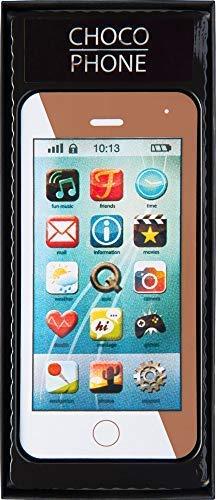 Weibler Confiserie Astuccio con Smartphone Cellulare in Cioccolato al Latte Cacao 36% - 1 x 70 Grammi