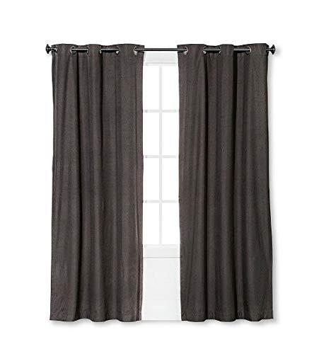 Price comparison product image Eclipse Windsor Light Blocking Curtain Panel,  Smoke