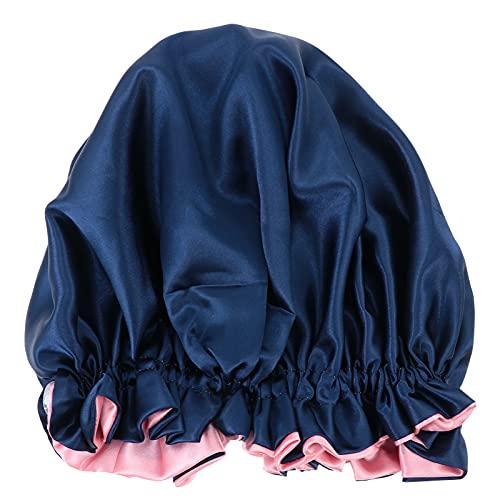 HEALLILY 1 Pza Gorro para El Cuidado del Cabello Quimio Sombrero Creativo para El Baño de Las Mujeres Gorra de Noche de Moda