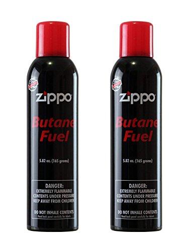 Zippo Butane Fuel, 5.82 oz, Pack of 2
