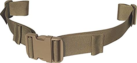 Fire Force Backpack Waist Belt Universal Fit Military Buckles Made in USA (Tactical Tan, 1½
