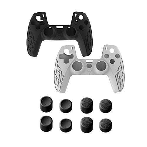2 Pack PS5 Controller Grip Cover