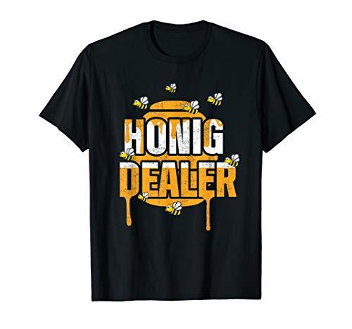 Honig Dealer Imker Bienenflüster Bienen Biene Geschenk T-Shirt
