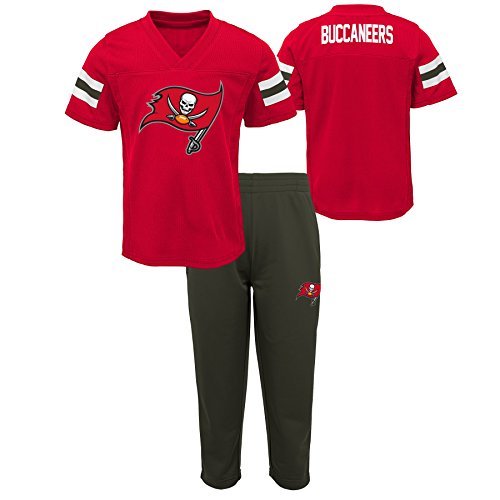 Outerstuff NFL NFL Tampa Bay Buccaneers Infant Training Camp Short Sleeve Top & Pant Set Red, 12 Months