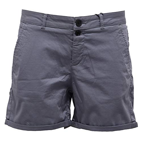 WOOLRICH 0403AB Pantalone Corto Donna Stretch Grey Cotton Shorts Woman [28]