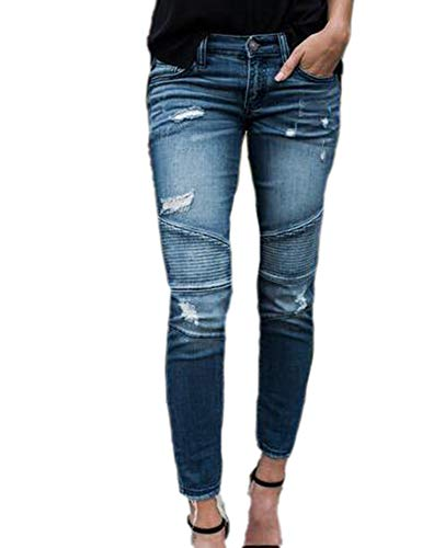 Babao vrouwen hoge taille skinny denim buis potlood jeans
