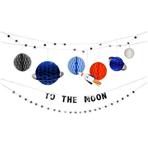 Meri Meri To The Moon Garland